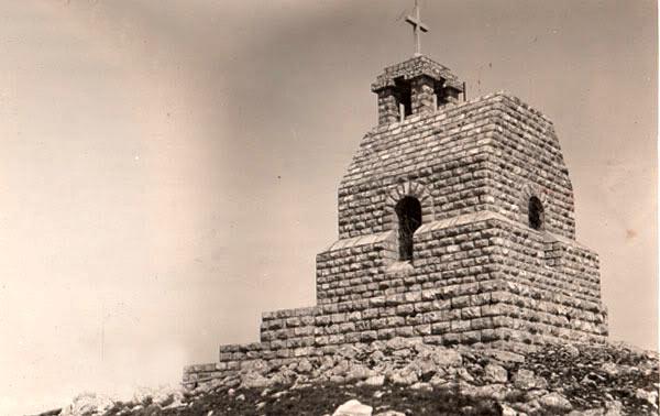 Planina Rtanj - Kapela na vrhu planine Rtanj