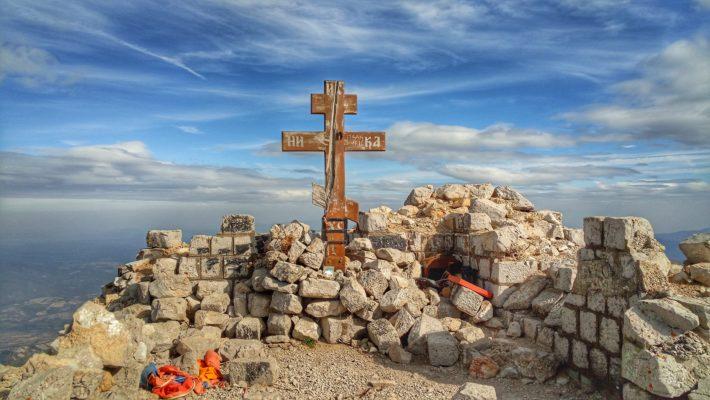 Planina Rtanj - krst na vrhu Rtnja