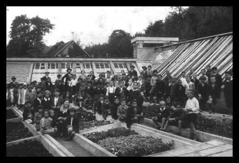 staklena bašta na Rtnju Greta i Julius Minh